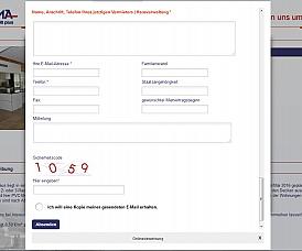 zusätzliches Mail-Formular: Artikel auf Anfrage | Frage zum Artikel | Preisvorschlag