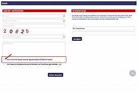Kontaktformular mit Checkbox, Kopie an den Kunden